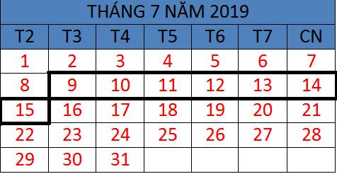 Tử vi hàng tuần từ ngày 09/07/2019 đến ngày 15/07/2019