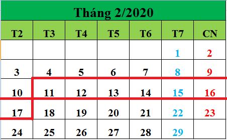 Tử vi hàng tuần từ ngày 11/02/2020 đến ngày 17/02/2020