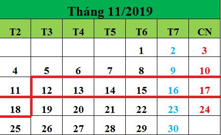 Tử vi hàng tuần từ ngày 12/11/2019 đến ngày 18/11/2019