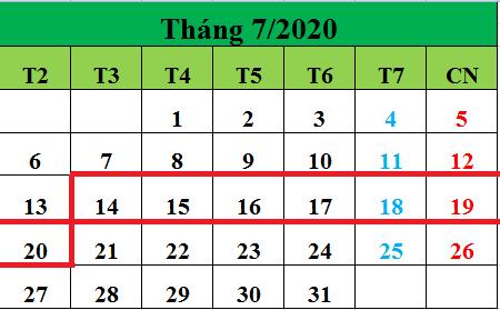 Tử vi hàng tuần từ ngày 14/07/2020 đến ngày 20/07/2020