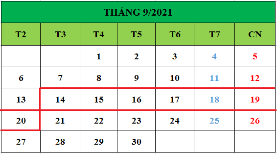 Tử vi hàng tuần từ ngày 14/09/2021 đến ngày 20/09/2021