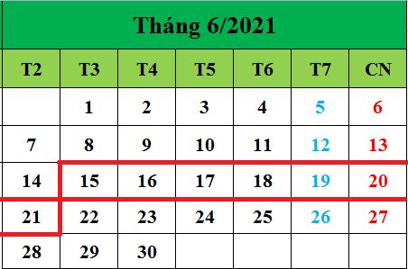 Tử vi hàng tuần từ ngày 15/06/2021 đến ngày 21/06/2021