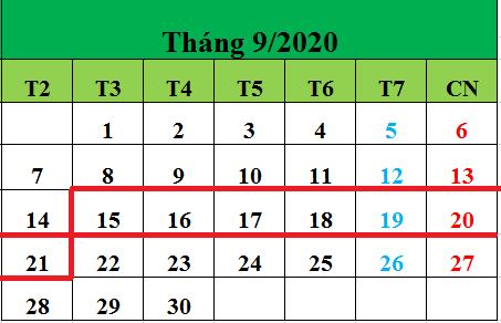 Tử vi hàng tuần từ ngày 15/09/2020 đến ngày 21/09/2020