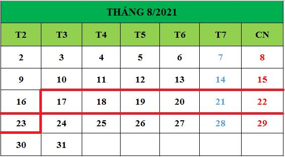 Tử vi hàng tuần từ ngày 17/08/2021 đến ngày 23/08/2021