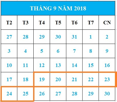 Tử vi hàng tuần từ ngày 19/09/2018 đến ngày 25/09/2018