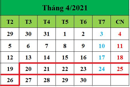 Tử vi hàng tuần từ ngày 20/04/2021 đến ngày 26/04/2021