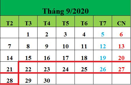 Tử vi hàng tuần từ ngày 22/09/2020 đến ngày 29/09/2020