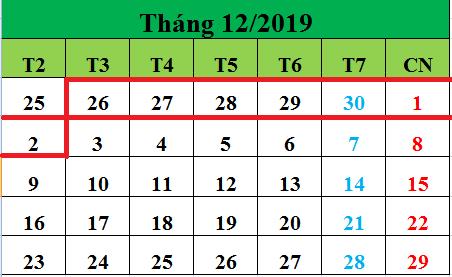 Tử vi hàng tuần từ ngày 26/11/2019 đến ngày 02/12/2019