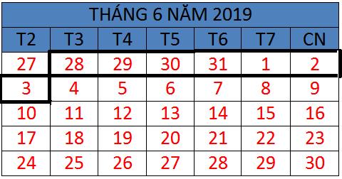 Tử vi hàng tuần từ ngày 28/05/2019 đến ngày 03/06/2019