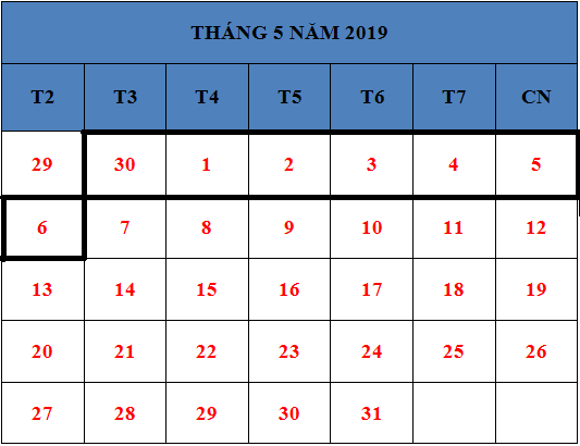 Tử vi hàng tuần từ ngày 30/04/2019 đến ngày 01/05/2019